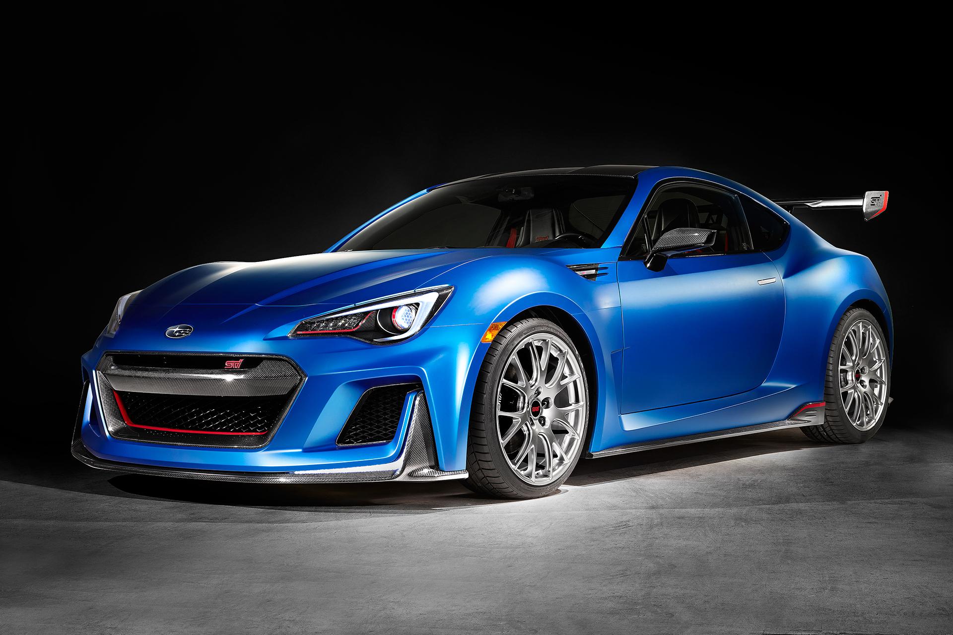Subaru BRZ STI Performance Concept - front / avant