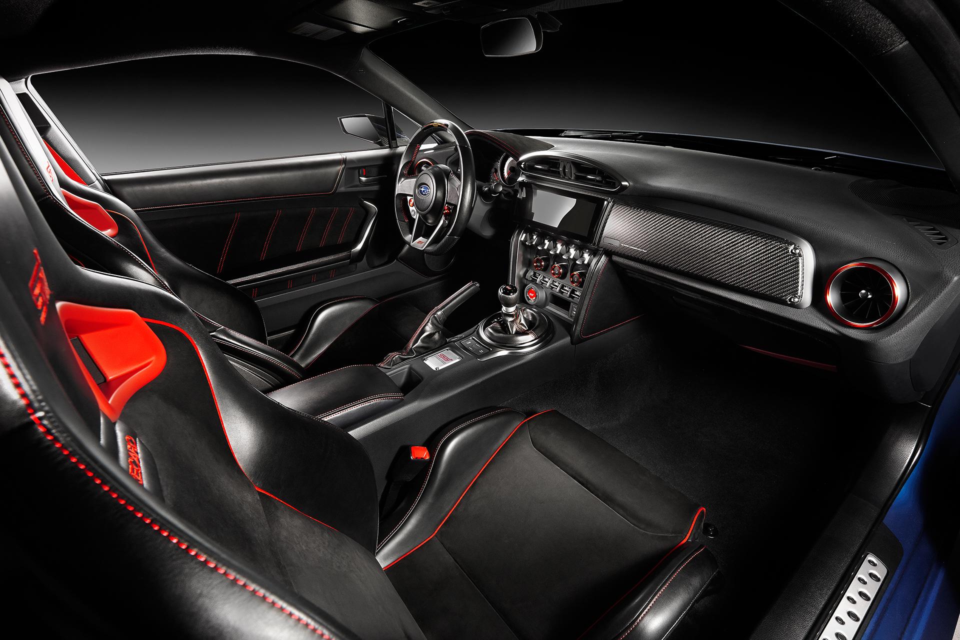 Subaru BRZ STI Performance Concept - interior / intérieur