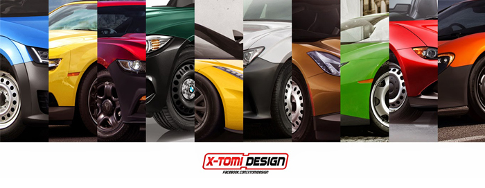 Supercars artwork by X-Tomi Design