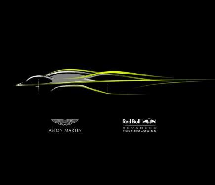 Aston Martin Red Bull Racing Team Up Amrb001 V12