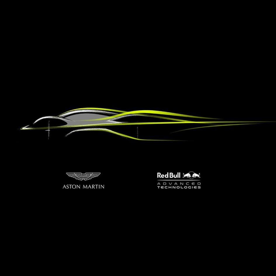 Aston Martin Red Bull AMRB001 - teaser 2016