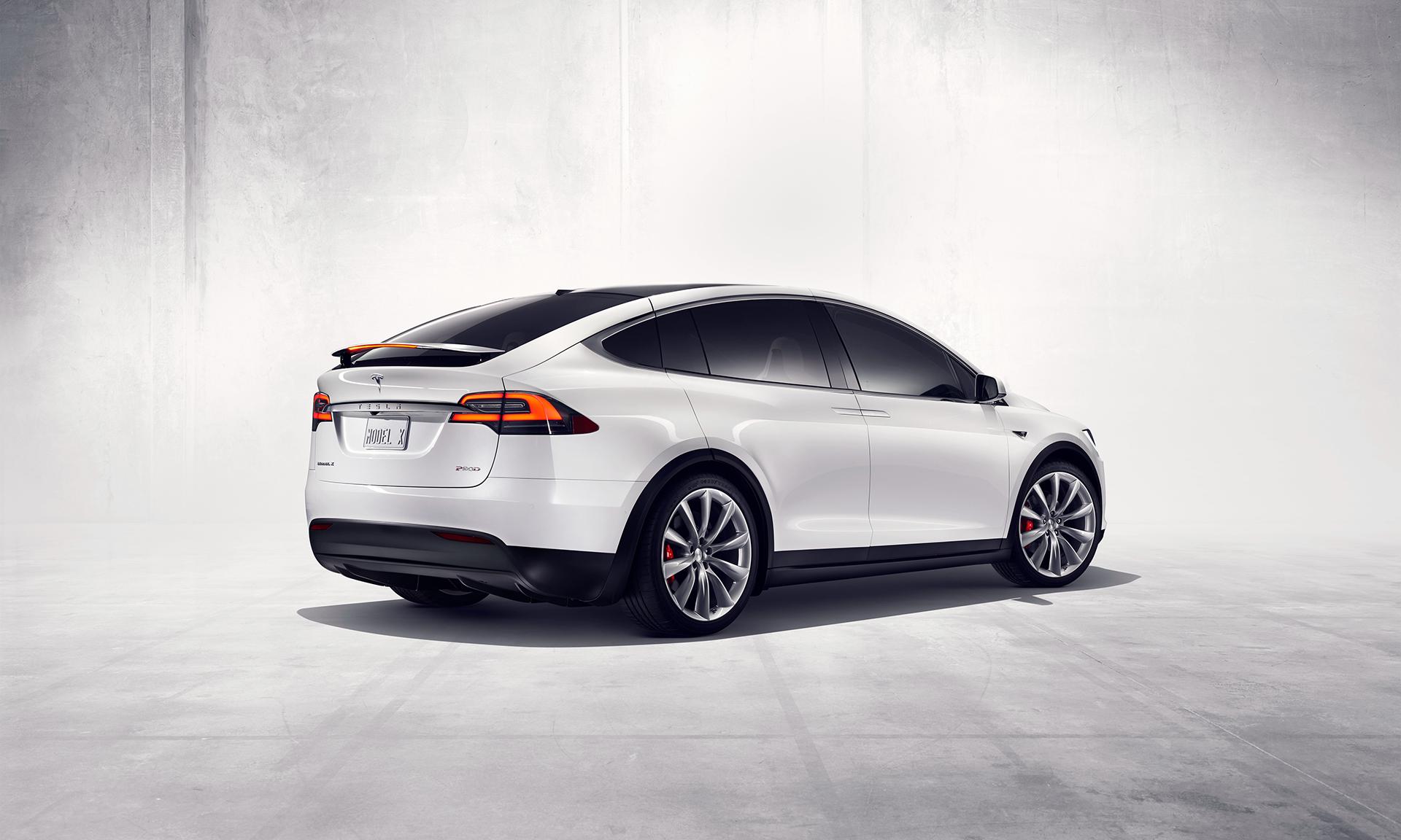 Tesla Model X - rear / arrière