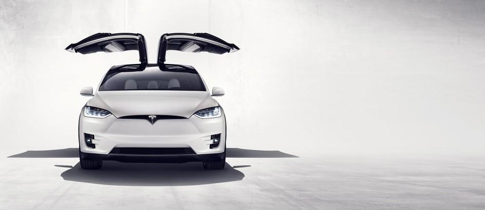 Tesla Model X - front / avant