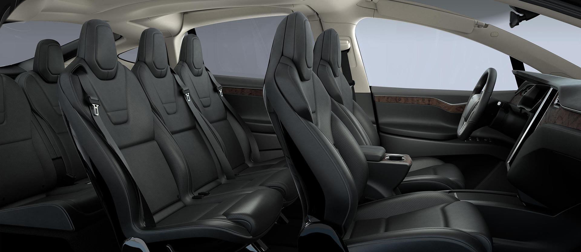 Tesla Model X - interior / intérieur