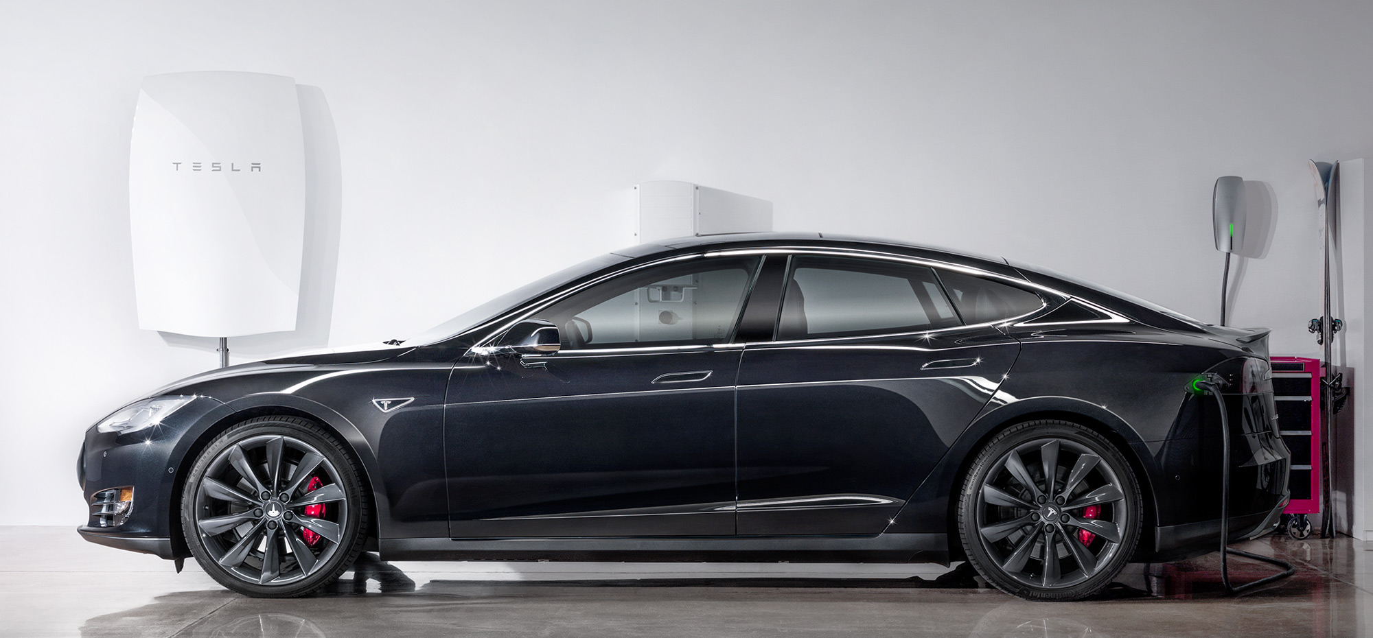 Tesla Motors Model S & Tesla Energy Powerwall