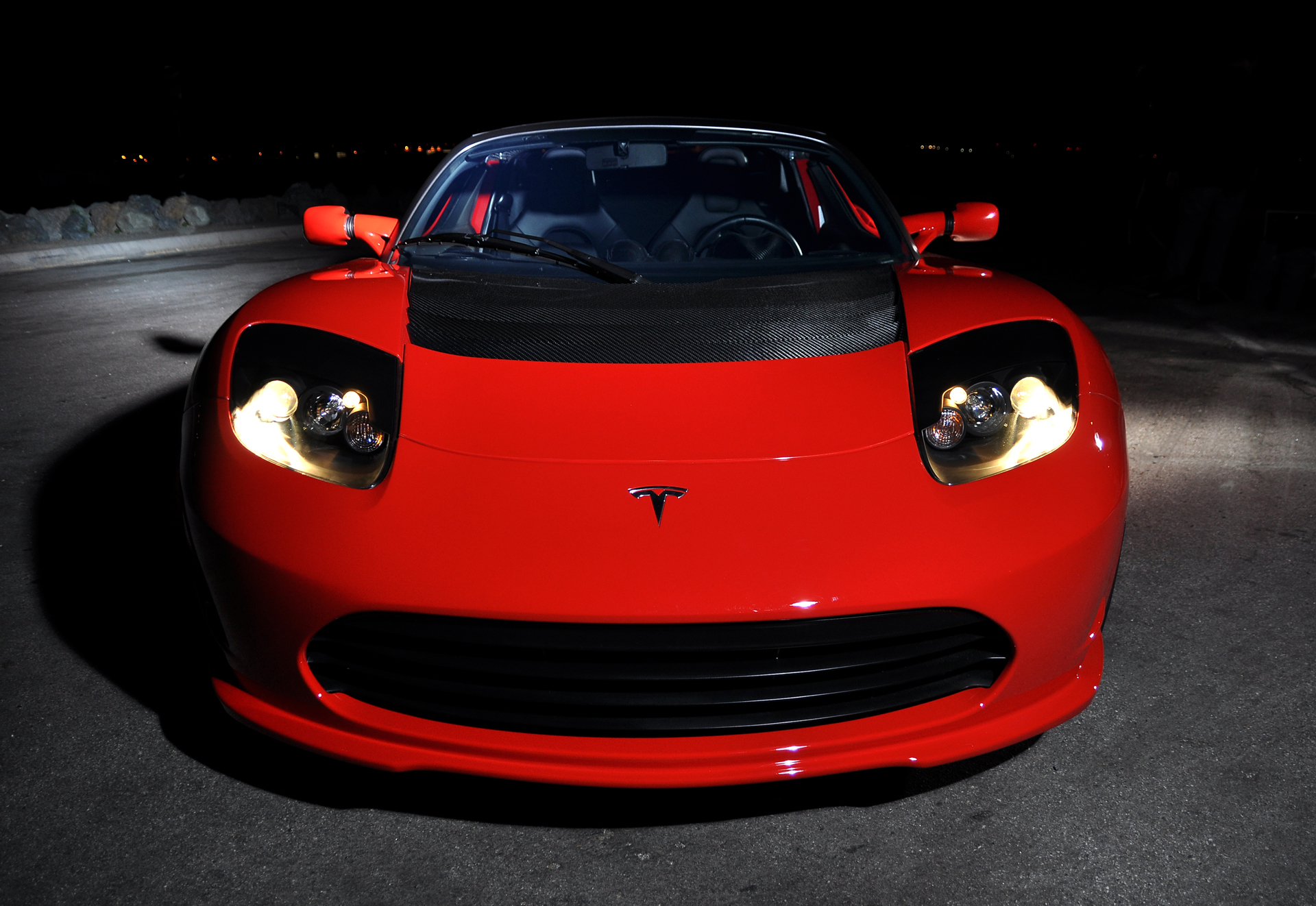 Tesla Motors - Roadster - front / face avant