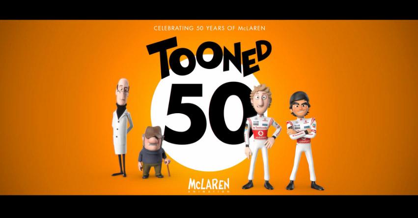 McLaren 'Tooned 50'