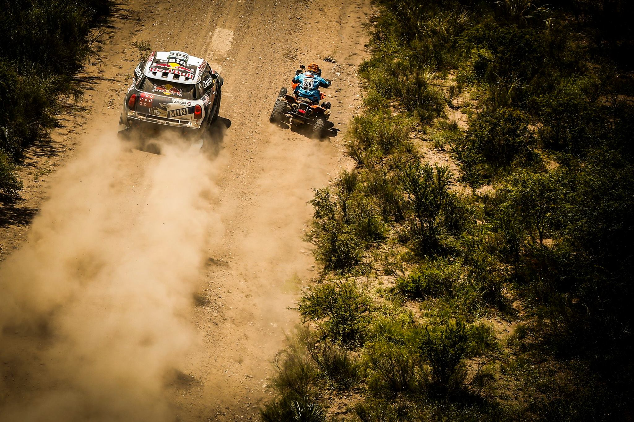 trail racing - Dakar 2016 - photo by A Lavadinho - A Vialatte