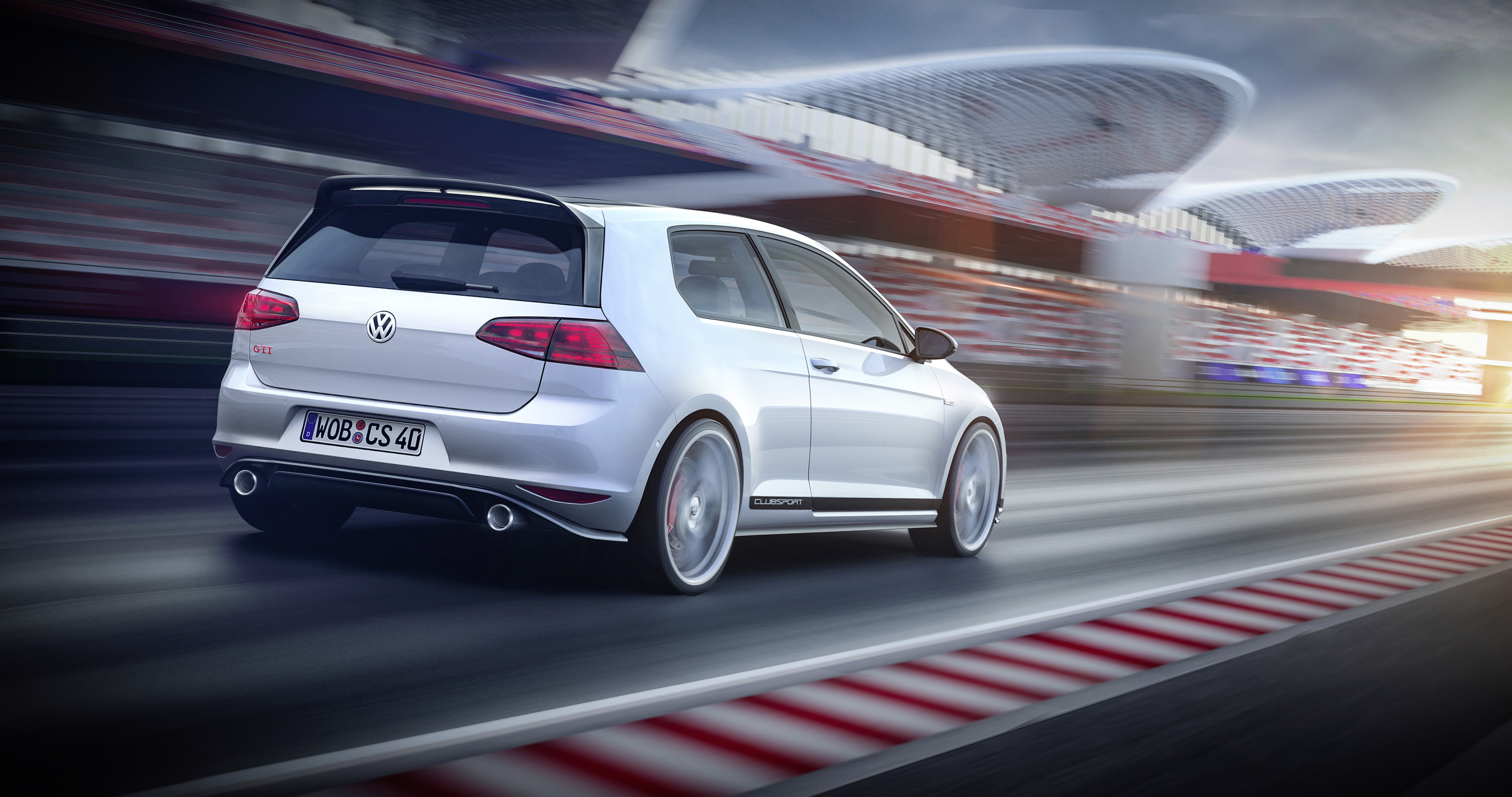 Golf GTI Clubsport - rear / arrière - Wörthersee 2015